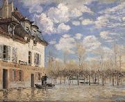 Alfred Sisley Flood at Port-Marly oil painting