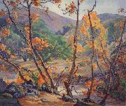 Anna Hills Sycamores,n.d. oil painting reproduction
