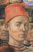 Detail from The Procession of the Magi, Benozzo Gozzoli