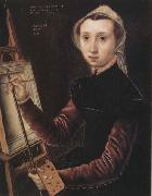 Catharina Van Hemessen Self-Portrait oil painting reproduction
