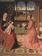 Saint Luke Drawing the Virgin and Child, Dieric Bouts