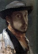 Edgar Degas Self-Portrait oil painting reproduction