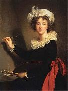 Elisabeth-Louise Vigee-Lebrun Self-Portrait oil painting reproduction