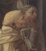 Fra Filippo Lippi Detail of the Coronation of the Virgin oil painting reproduction