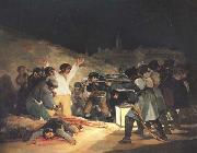 Francisco de Goya Exeution of the Rebels of 3 May 1808 oil painting reproduction