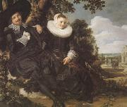 Isaak Abrhamsz Massa and Beatrix van der Lean (mk45), Frans Hals