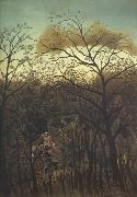Henri Rousseau The Rendezvous in the Forest oil painting artist