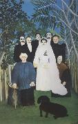 Henri Rousseau A Country Wedding oil painting artist