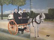Henri Rousseau Old Juniet's Carriole oil painting artist