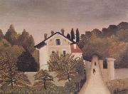 Landscape on the Banks of the Oise, Henri Rousseau