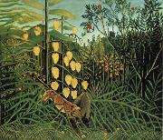 Fight Between a Tiger and a Bull, Henri Rousseau