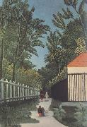 Henri Rousseau View of Montsouris Park oil painting artist
