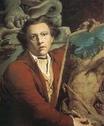 James Barry Self-Portrait as Timanthes oil painting artist