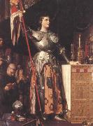 Joan of Arc at the Coronation of Charles VII in Reims Cathedral (mk45), Jean Auguste Dominique Ingres