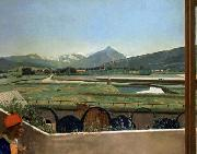 View of Geneva from the Artist s House, Jean-Etienne Liotard