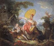 The Musical Contest, Jean-Honore Fragonard