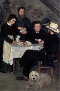 At the Inn of Mother Anthony, Pierre Auguste Renoir