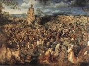 Pieter Bruegel Christ Carring the Cross oil painting