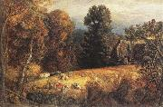 The Gleaning Field, Samuel Palmer