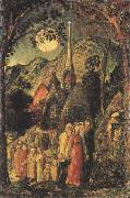 Coming from Evening Church, Samuel Palmer