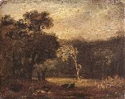 Sketch from Nature in Syon park, Samuel Palmer