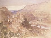The Village of Papigno on the Nar,between Terni and thte Falls, Samuel Palmer