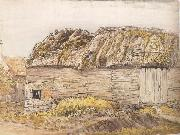 A Barn with a Mossy Roof, Samuel Palmer