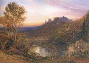 A Towered City or The Haunted Stream, Samuel Palmer