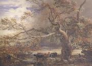 Sheltering from the Storm, Samuel Palmer