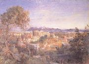 A View of Ancient Rome, Samuel Palmer