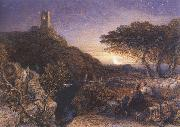 The Lonely Tower, Samuel Palmer