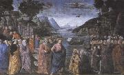 Domenico Ghirlandaio,The Calling of the first Apostles,Peter and Andrew, Sandro Botticelli