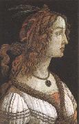 Sandro Botticelli Workshop of Botticelli,Portrait of a Young woman oil painting reproduction