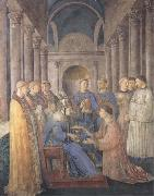 Fra Angelico,Ordination of St Lawrence