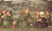 Sir Edward Coley Burne-jones,Bart.,ARA,RWS