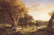 Thomas Cole The Pic-Nic oil painting reproduction
