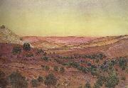 Thomas Seddon Thi Hills of Moab and the Valley of Hinnom (mk46) oil painting