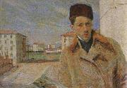 Umberto Boccioni Self-Portrait oil painting reproduction