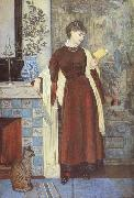 Walter Crane,RWS At Home:A Portrait (mk46) oil painting artist