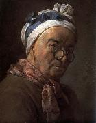 jean-Baptiste-Simeon Chardin Self-Portrait oil painting reproduction