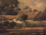 unknow artist An Old Farmhouse