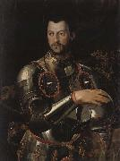 Cosimo I dressed in a portrait of Qingqi Breastplate