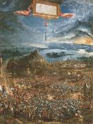 Albrecht Altdorfer the battle of lssus oil painting reproduction