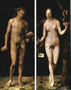 Albrecht Durer Adam and Eve oil painting reproduction