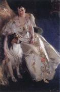mrs.walter rathbone bacon, Anders Zorn