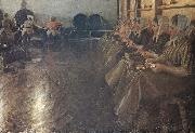 Anders Zorn tappningssalen oil painting reproduction