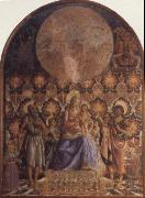 Embrace the Son of the Virgin with Angels, Andrea del Castagno