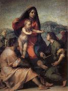 Holy Family with Angels, Andrea del Sarto