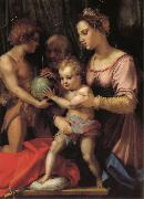 Holy Family with St. John young, Andrea del Sarto