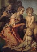 Andrea del Sarto Holy Family oil painting reproduction